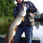 vissen met Jan 006