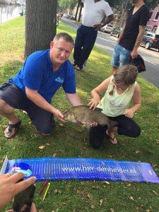 grootste vis 62 cm gevangen door Elisa Lewis