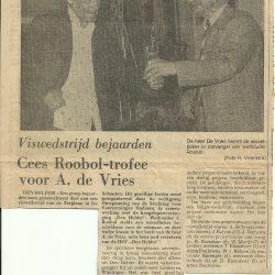 Roobol wedstrijd (1) 1975